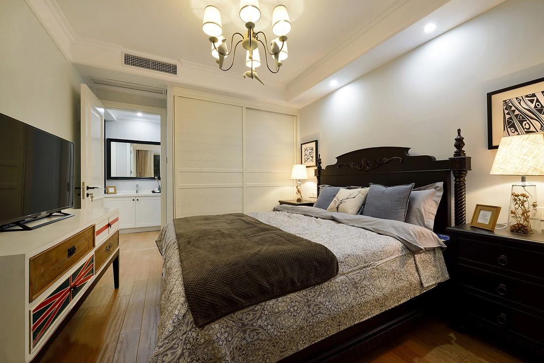 简美风格两居卧室装修效果图