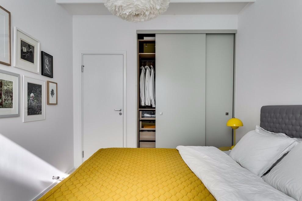 北欧风格公寓卧室衣柜装修效果图