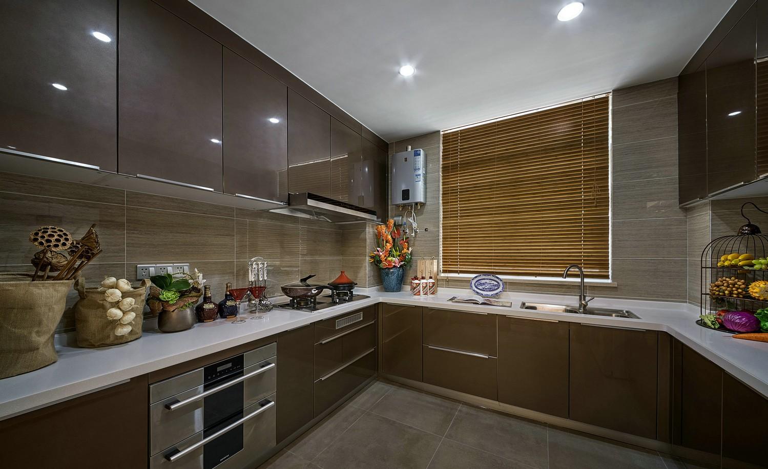 奢华新中式风格厨房装修效果图