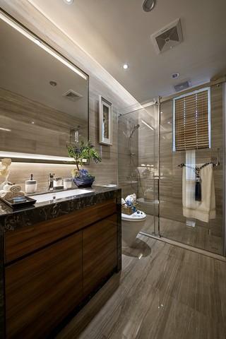 奢华新中式风格卫生间装修效果图