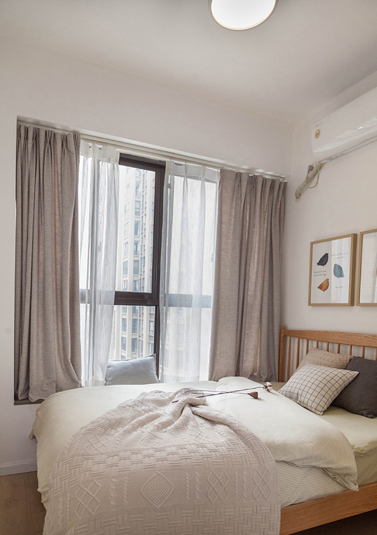 北欧风格卧室飘窗每日首存送20