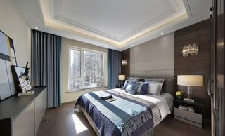 90平米现代风格卧室装修效果图