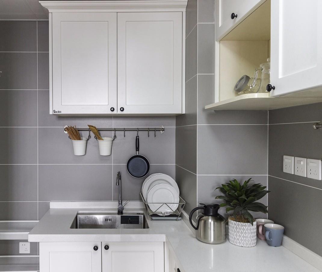 現代美式風格裝修櫥柜設計圖