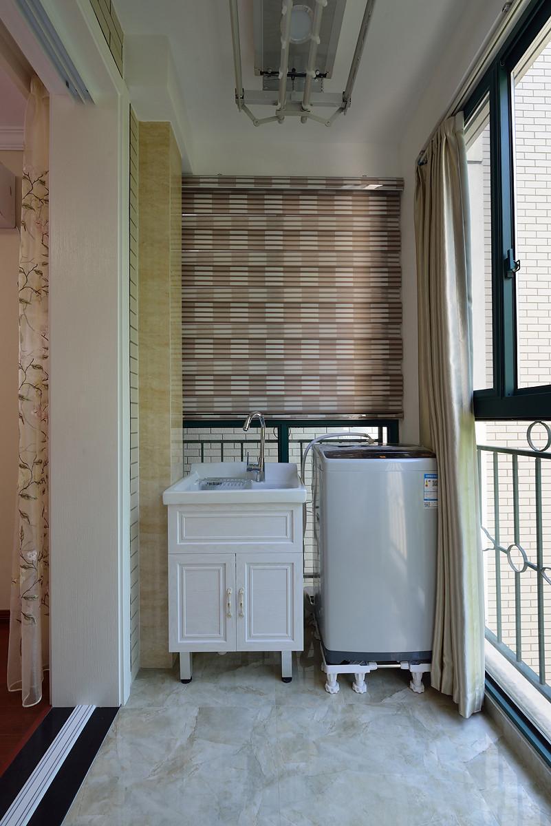 80平简美风格阳台装修设计图