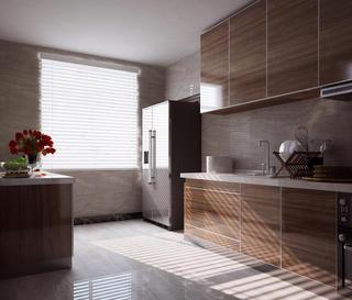 160平米中式风格厨房装修效果图