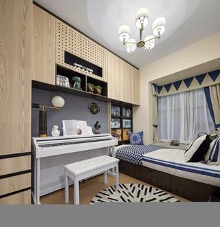 90平米三居臥室裝修設計圖
