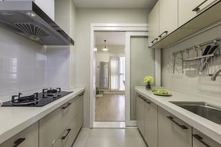 70平簡約風格廚房裝修效果圖