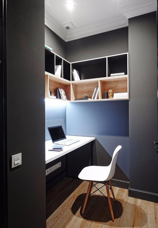 现代风三居室书房装修效果图