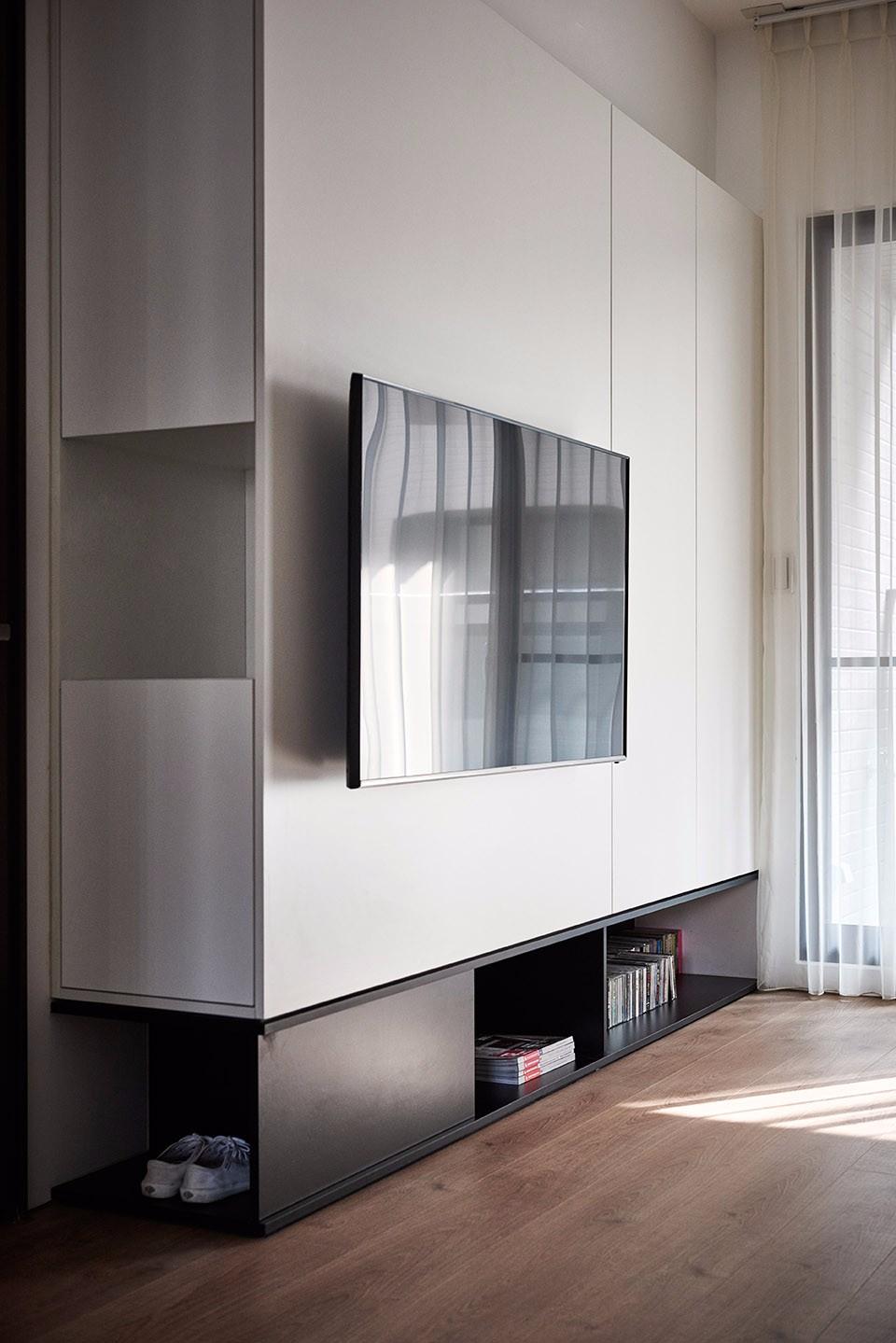 简约风格电视背景墙装修效果图