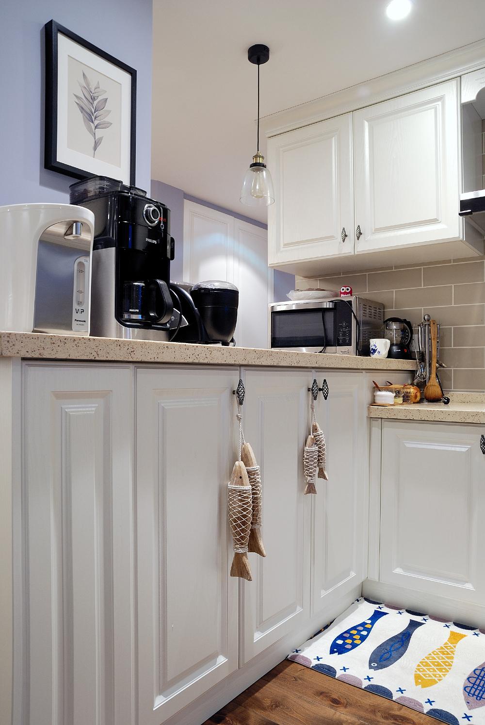 简约美式厨房装修设计图