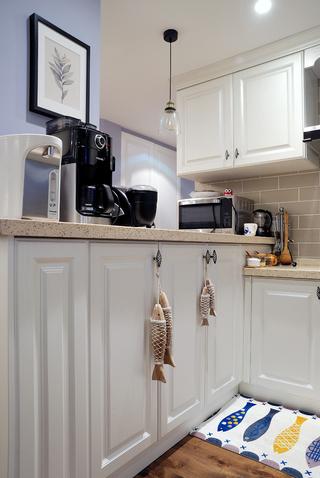 簡約美式廚房裝修設計圖