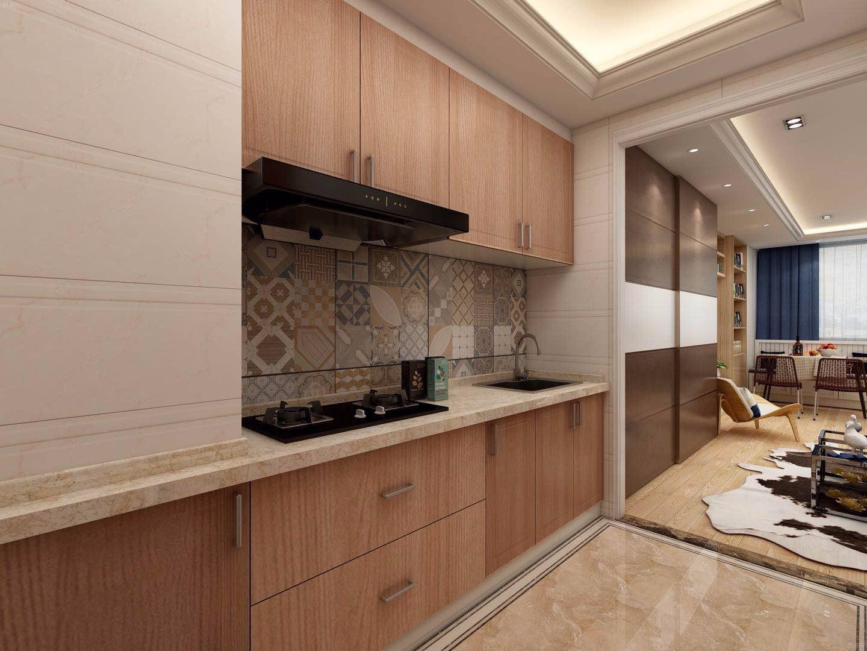 北欧单身公寓厨房装修效果图