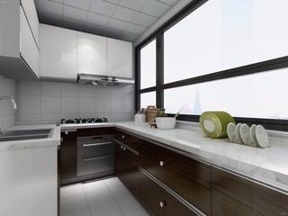 96平米简约风格厨房装修效果图