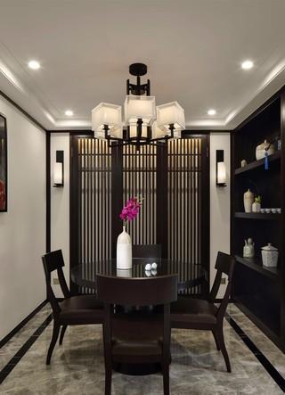 中式风格三居餐厅装修效果图