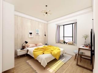 89平米北欧风卧室装修效果图