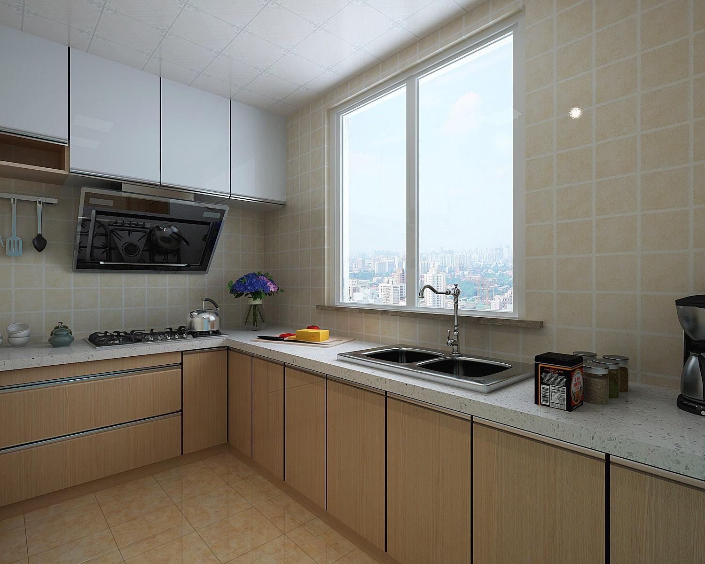 106平米简约风格厨房装修效果图