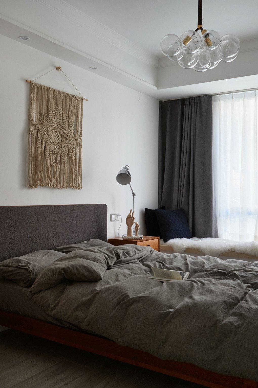 黑白北欧风二居装修效果图