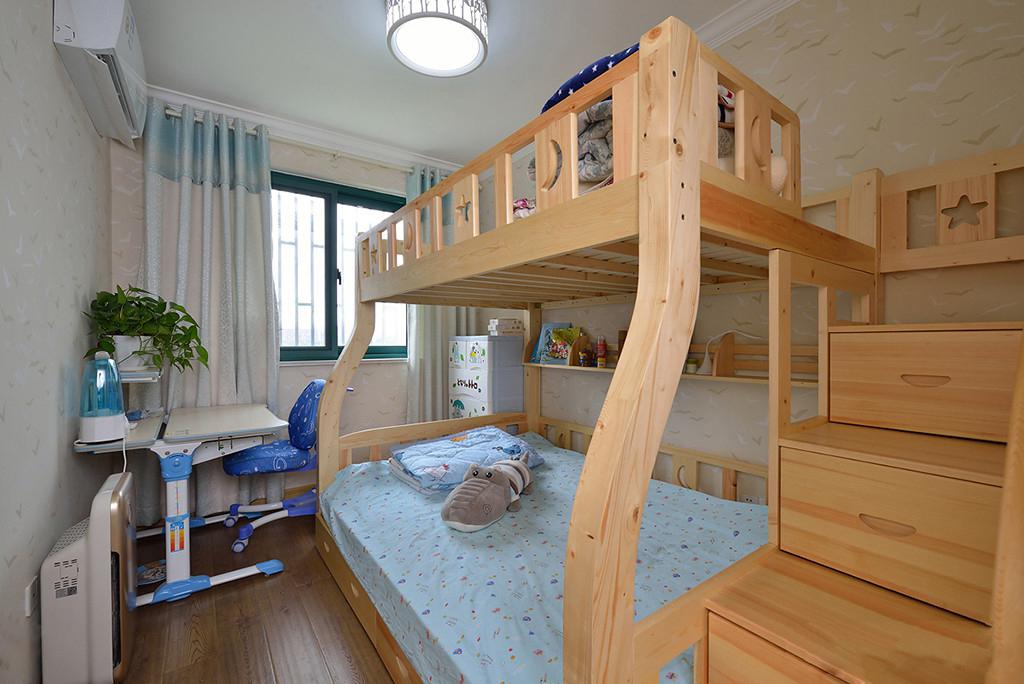 现代简约风二居装修儿童房效果图