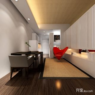 现代简约一居室每日首存送20