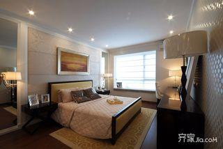 欧式风格三居卧室每日首存送20