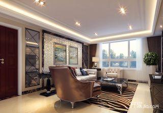 古典美式三居装修效果图