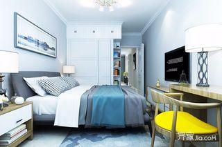 75平米二居卧室装修效果图