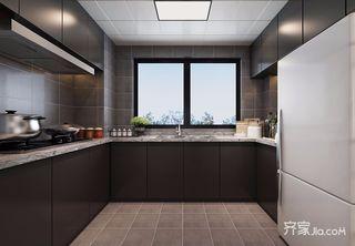 108平现代简约厨房装修效果图