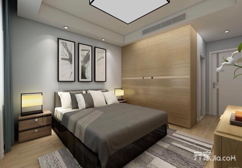 115平米二居卧室装修效果图