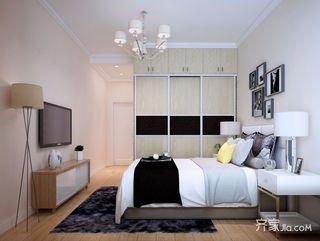 120㎡现代简约风格卧室装修效果图