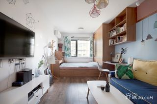 小户型一居室装修效果图