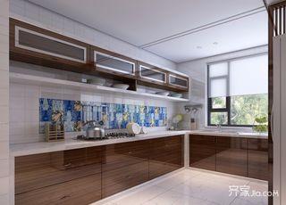 120平米二居室厨房装修效果图