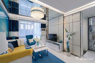 后现代风格两居室装修效果图