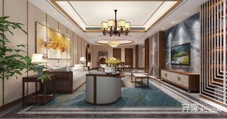 156㎡新中式三居装修效果图