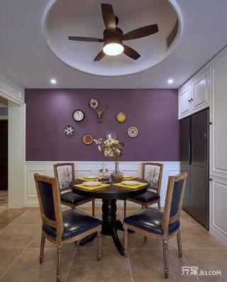 美式混搭两居室餐厅装修效果图