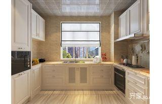 混搭风格四居室厨房装修效果图