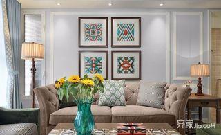 126平美式风格三居装修效果图