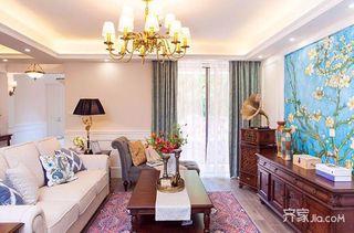 140平简美三居装修设计效果图