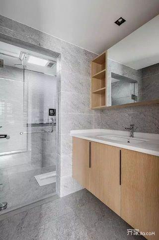北欧风二居室公寓卫生间装修搭配图