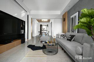 118平现代风格三居装修效果图