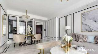 现代轻奢三居室装修设计效果图