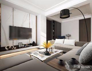 小户型现代简约二居装修效果图