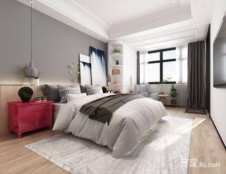 小户型现代简约二居卧室装修效果图