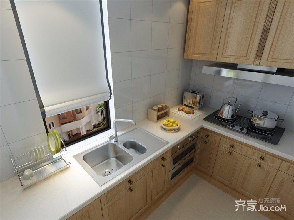 小户型中式风两居厨房装修效果图