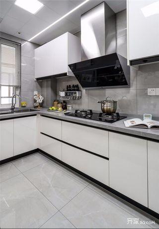 现代北欧三居厨房装修设计效果图