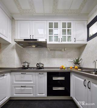 140平混搭风格三居厨房装修效果图