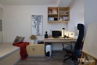 简约风格两居室书房装修效果图