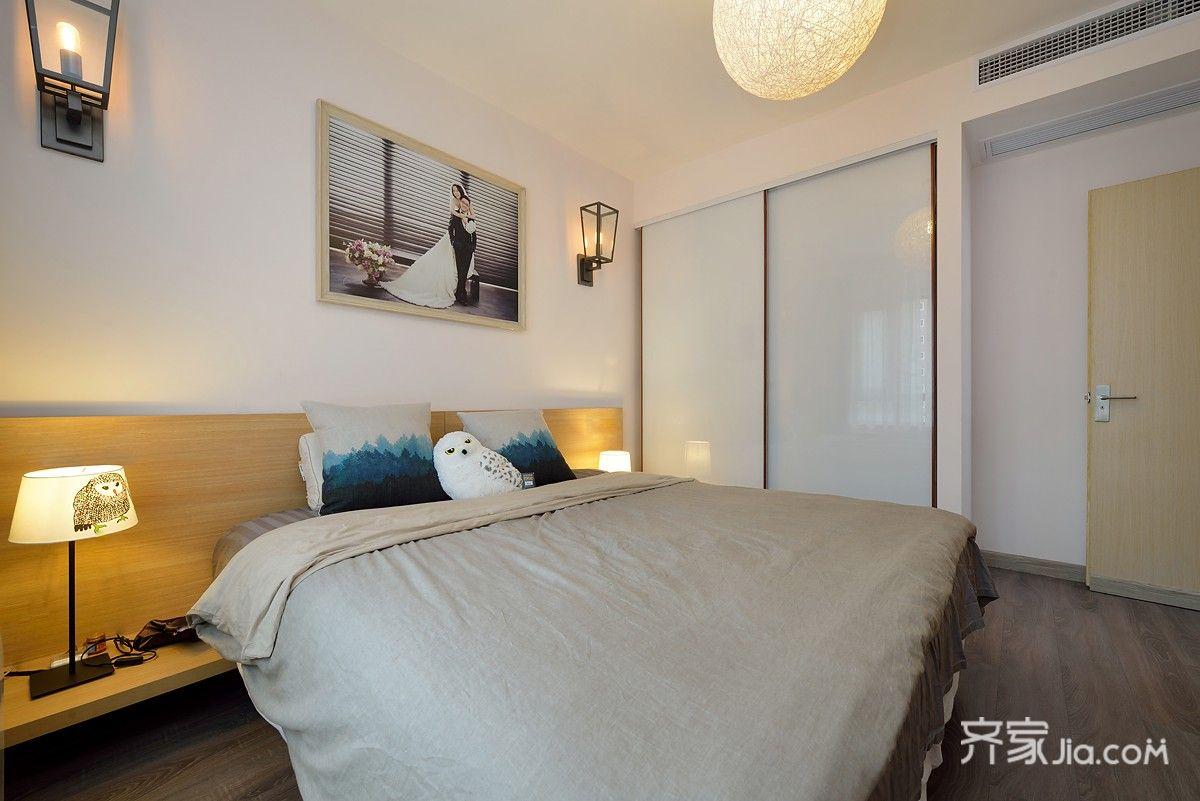 简约风格两居卧室装修效果图