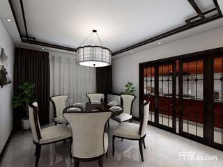 120平米中式风格餐厅装修效果图