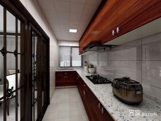 120平米中式风格厨房装修效果图