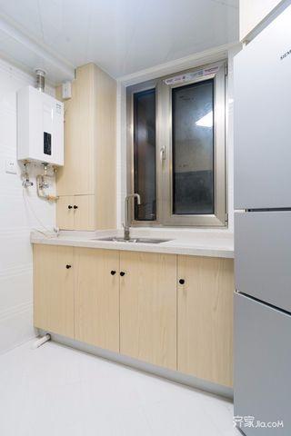 小户型简约一居室厨房装修效果图